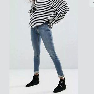 ALL SAINTS Washed Indigo MAST Jeans allsaints